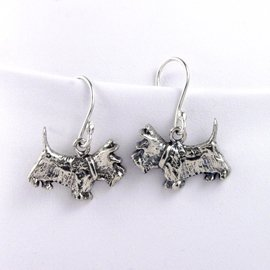 ScottishTerrier Sterling Silver Earrings