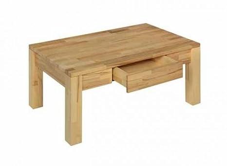 Mesa de centro vierhaus 7648-026/03 en de madera maciza de haya core