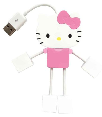 Hello Kitty 4-Port Kitty Hub USB (75009-OD)