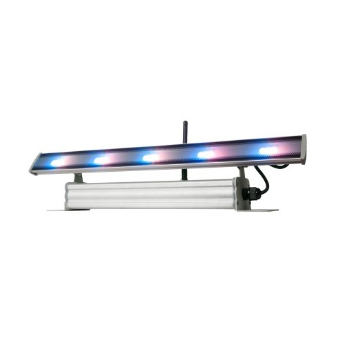 New American Dj | Rechargeable Lithium Battery Powered Ultra-Bright Indoor Linear Fixture, Wifly Wash Bar With 15 Rgb Led, Wireless Wifly Dmx, And Electronic Dimming