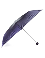 M&S Collection Metallic Effect Umbrella