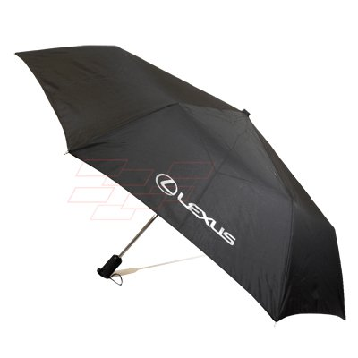 Lexus Black Auto Open Windproof Frame Umbrella