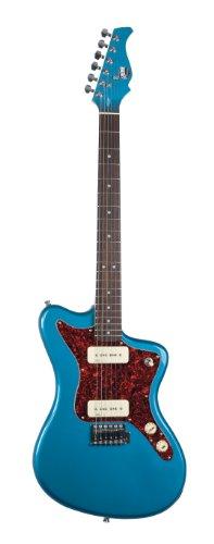 Axl Az-800-Blp Marquee Mjz Electric Guitar, Lake Placid Blue