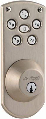 Kwikset 907 15 SMT CP PWRBOLT SmartCode Satin Nickel Keyless Entry Deadbolt With SmartKey - Quantity 1
