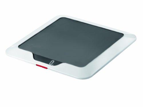 Guzzini 16850022 Balance de Cuisine Electronique Slim Gris 2 x 23 x 23 cm