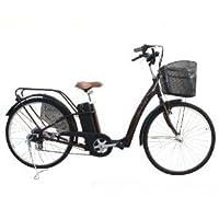 フル電動自転車 26インチ ブラウン 452accel