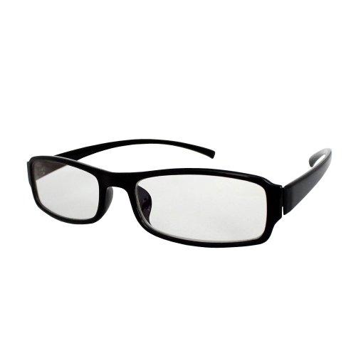 mtmdPC PCメガネ ブルーライト40%カット スクエア 黒ぶち/グロスブラック gf_5312_pre