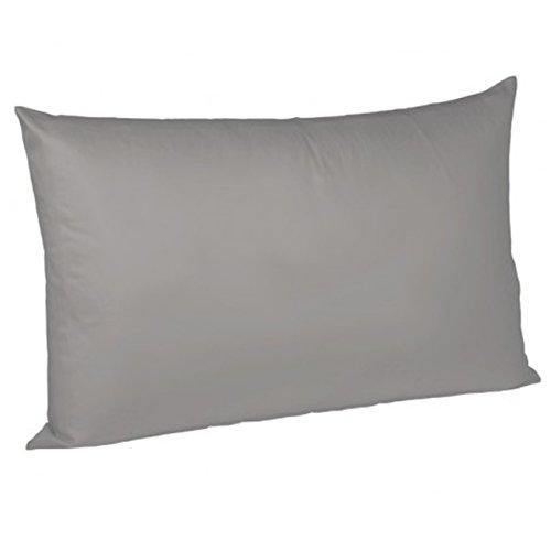 Fleuresse Interlock-Jersey-Kissenbezug uni colours grau 9021 Größe 40x40 cm thumbnail