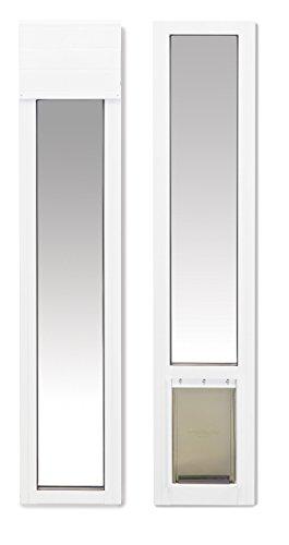 PetSafe 2-Piece Sliding Glass Pet Door for Apartments or Rentals, 76 13/16