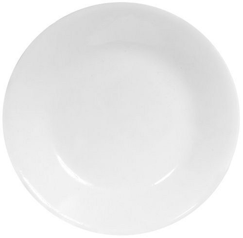 Corelle Livingware Bread and Butter Plate, Winter Frost White, Size: 6-3/4-Inch (6)