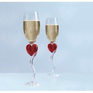 valentinstag geschenk wundersch ne sektgl ser champagnergl ser herz. Black Bedroom Furniture Sets. Home Design Ideas