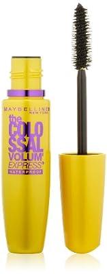 Maybelline New York The Colossal Volum' Express Waterproof Mascara, 0.27 Fluid Ounce