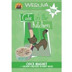 Weruva Cats In The Kitchen - Chick Magnet - Chicken & Mackerel In Gravy Recipe