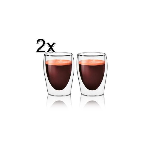 2x Scanpart Espresso Thermogl&#228;ser 8cl