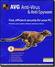 AVG Anti-Virus & Anti-Spyware Version 7.5- 2 Year License