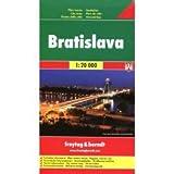 FB Bratislava (Slovakia) 1:16,000 Street Map, 2010 edition by SHOCART