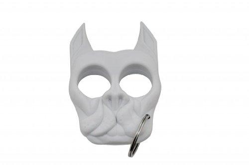 Brutus The Bull Dog - Self Defense Keychain - White