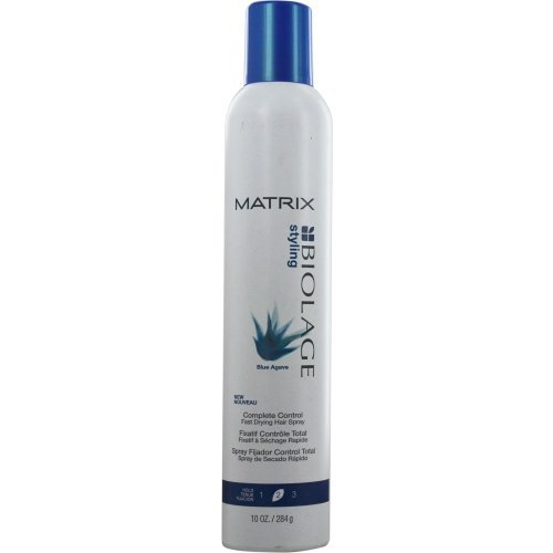 BIOLAGE by Matrix BLUE AGAVE COMPLETE CONTROL FAST DRYING HAIR SPRAY 10 OZ UNISEX by Biolage