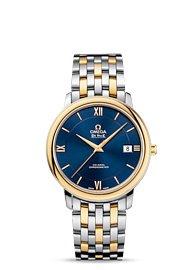 Omega De Ville Prestige Co-Axial Blue Dial Mens Watch 424.20.37.20.03.001