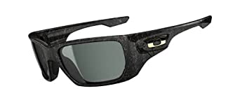 Oakley Style Switch Asian Fit Photochromic OO9216-05 Iridium Sport Sunglasses,Polished Black/Gold Ghost Text,55 mm