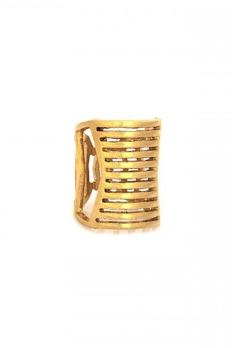 Belle Noel - Bars Cut Out Ring (Gold)