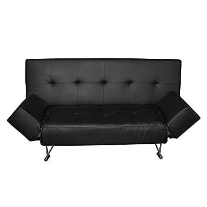 RR Canapé lit click clack mod marcy noir