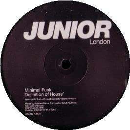 Minimal funk minimal funk definition of house amazon for What is the definition of house music