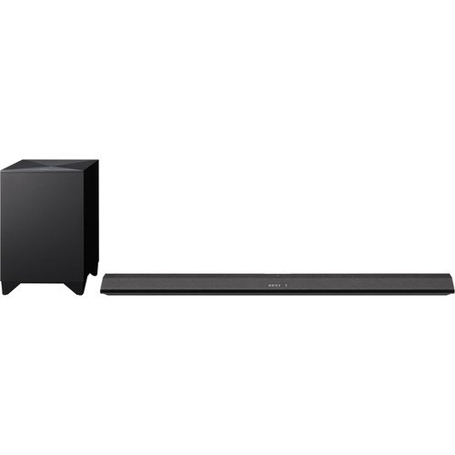 Sony 2.1 Channel 330 Watt Sound Bar Sound System With Wireless Active Subwoofer Home Theater System, W/ Bluetooth Streaming, 2-Way Speaker Design, S-Force Technology, Black Finish