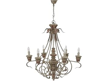 Artisanti Elegance Six Light Wooden Chandelier   ÷Top Deals