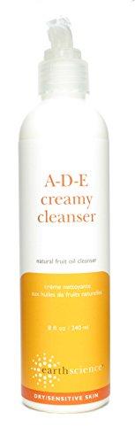 Earth Science A-D-E Creamy Cleanser, 8 Ounce Bottle