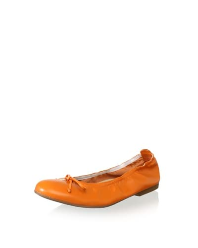 Clarys Kid's Stretch Ballet Flat  [Orange]