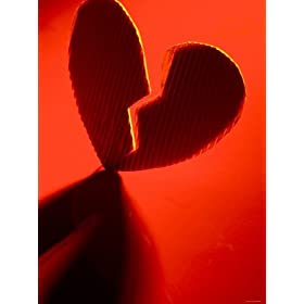 Broken Heart in Red Light