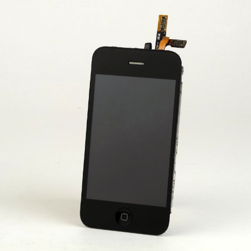 Lcd Display Touch Screen Digiziter Assembly With Home Button Replacement For Iphone 3Gs (Black)