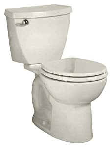 American Standard 2849.128.222 Cadet 3 Right Height Round Front Flowise 1.28 gpf Toilet with 10-Inch Rough-In, Linen