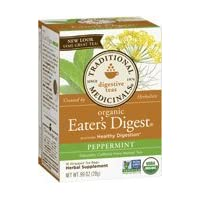 Eater's Digest Herbal Peppermint Traditional Medicinals tea - 16 Tea Bags