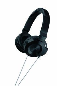 Onkyo ES-HF300 On-Ear Headphones (Black/Silver)