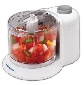 Essential Black & Decker HC306 1-1/2-Cup One-Touch Electric Chopper White