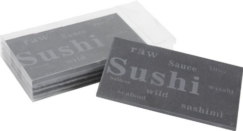 4 ardoises à sushis