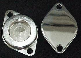 Moto Techniques 513-060 CAM CAP COVER - CHROME