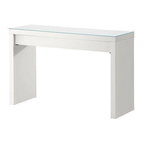 IKEA-MALM-Schminktisch-wei-120x41-cm