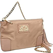 Hot Sale Juicy Couture Nylon Louisa Flat Cross Body,Rich Camel,One Size