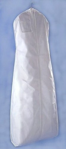 Brand New White Wedding Bridal Dress Breathable Garment Bag 24 X 72