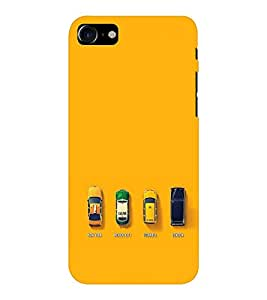 EPICCASE City Taxi Mobile Back Case Cover For Apple iPhone 7 (Designer Case)