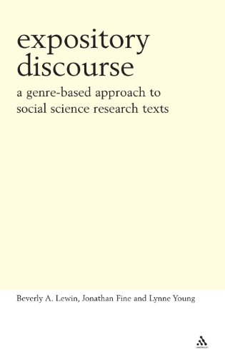 Expository Discourse (Continuum Collection)