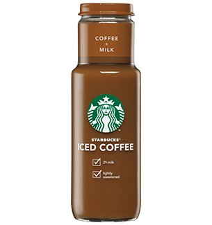 Starbucks Iced Coffee 11oz Glass Bottle - Coffee (Pack of 12) (Starbucks Iced Caramel Coffee compare prices)