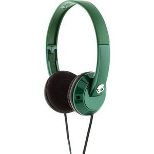 Skullcandy Uprock Headphones Forest Green/White, One Size
