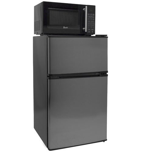 3.1 Cu. Ft. Compact Refrigerator, Freezer, and Microwave Combo (Mini Fridge Microwave Combo compare prices)