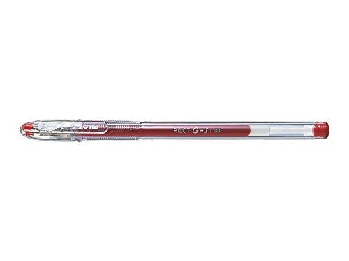 Pilot BL-G1-5T-R - Roller gel, 0.5 mm, color rojo