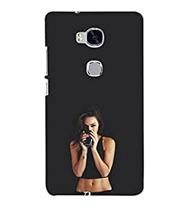 Ebby Premium Printed Back Case Cover With Full protection For Honor 5X (Designer Case)