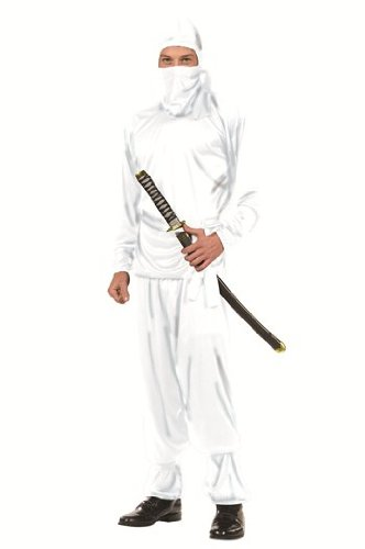 White Ninja Teen Costume